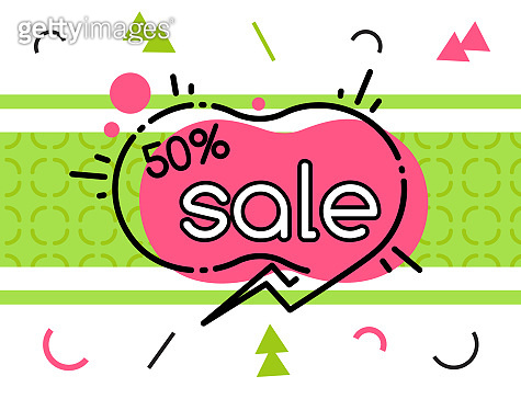 Abstract geometric bubble hot sale. New arrival, big sale and special offer. Black friday up to. Big discount