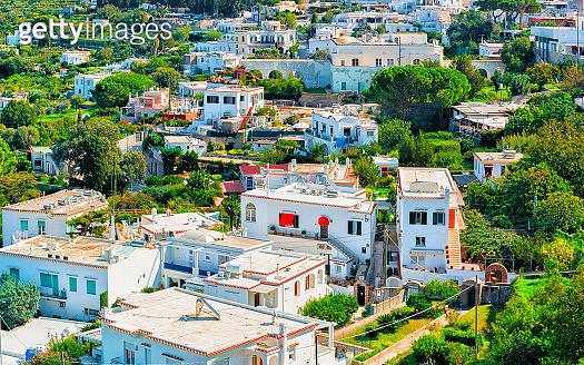 Villas Architecture on Capri Island reflex