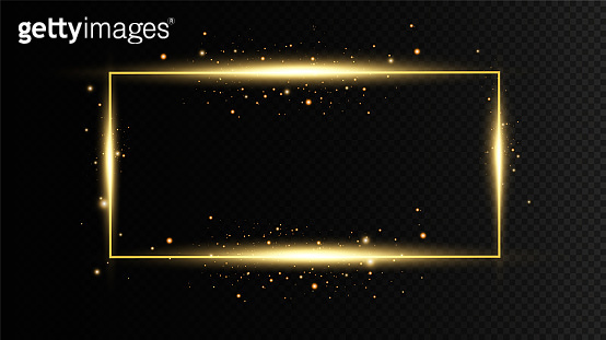 Glow light effect. Vector sparkles on a transparent background. Christmas light effect. Sparkling magical dust particles.The dust sparks and golden stars shine with special light.