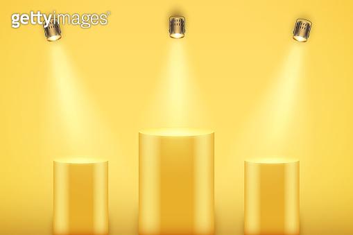 platform_yellow_podium column