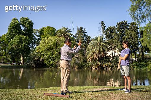 Fishing is an art too