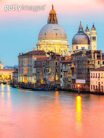 Venice, Italy, Grand canal.