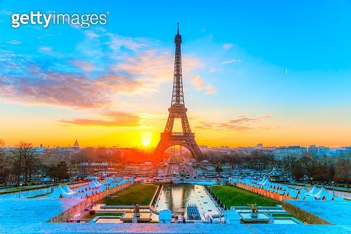 Paris, The Eiffel Tower, France