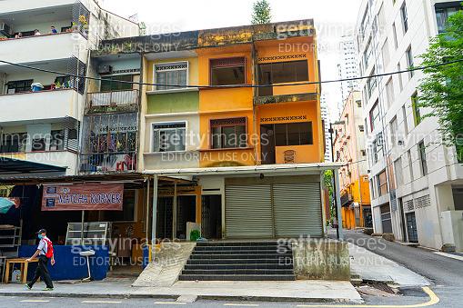 Cityscapes, streets of Kuala Lumpur