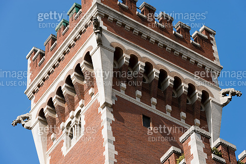Cova Castle in Neo Medieval style - Milan Lombardy Italy
