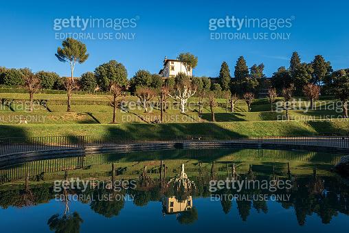 Giardino di Boboli - Boboli Gardens in Florence Tuscany Italy