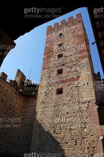 Medieval Castle of Marostica city - Vicenza Veneto Italy