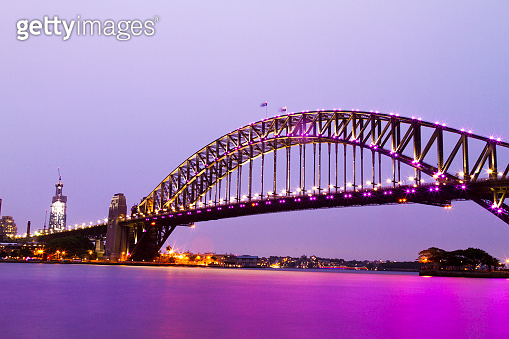 Sydney Skyline at Sunset