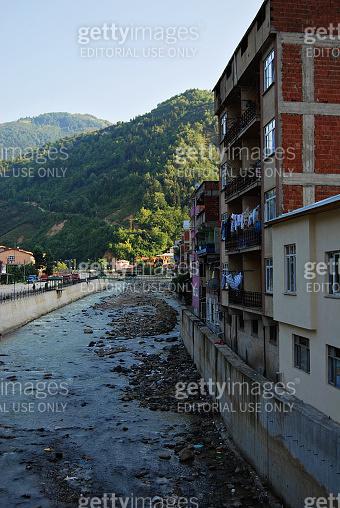 Dereli town in Giresun City in Turkey.