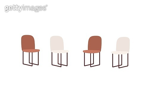 Chairs from the support group