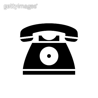 Telephone  vectorSolid  icon