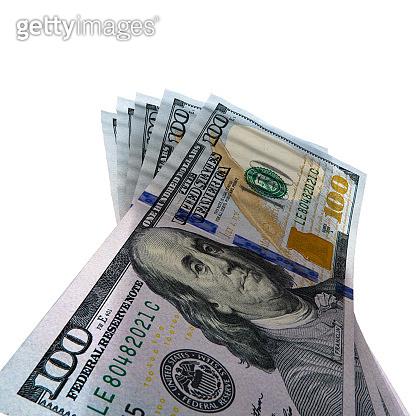 3d rendering dollars stock photo
