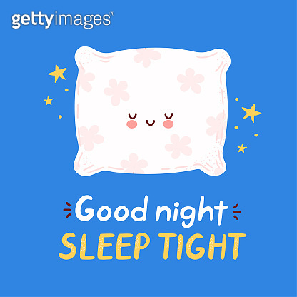 Cute happy funny pillow card