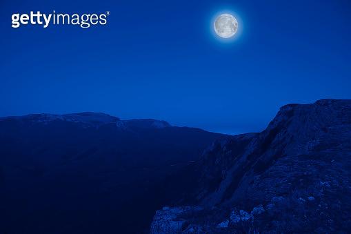 Mesmerizing picturesque mountain landscape
