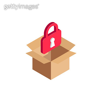 isometric lock in box