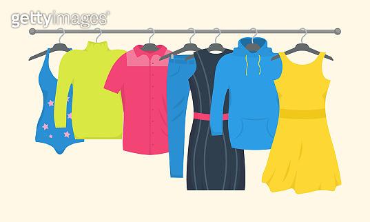 Clothes, accessories, fashion.