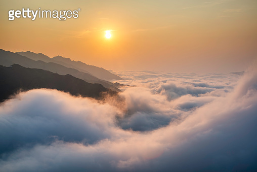 Ta Xua is a famous mountain range in northern Vietnam. All year round, the mountain rises above the clouds creating cloud inversions.