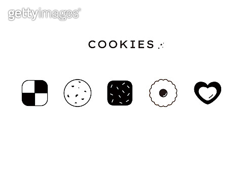 Cookie icon collection