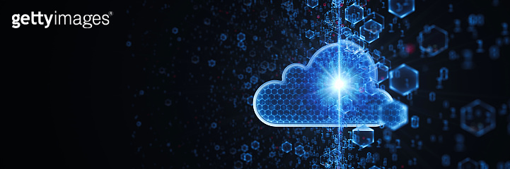 Cloud Computing Wide Concept