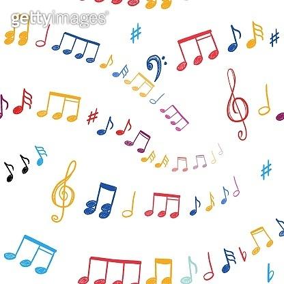 Vector sheet music