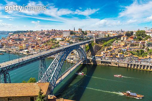 Dom Luis Bridge in Porto