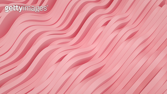 3D Render Abstract Wave Background