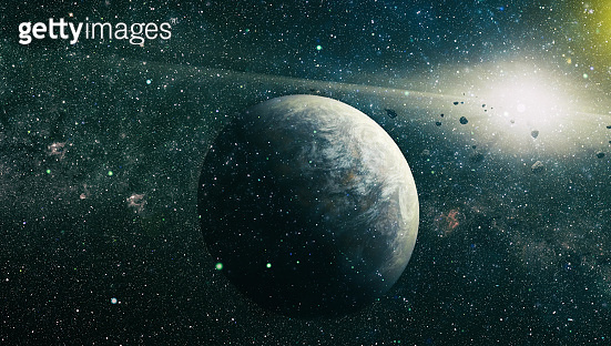 Starry outer space background texture . star filled night sky background texture