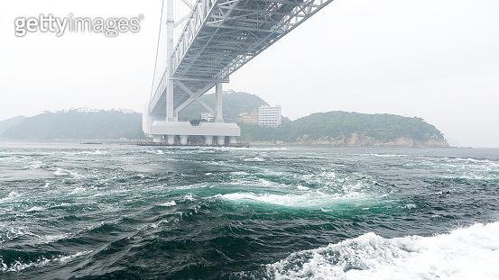 The Naruto Bridge on Shikoku