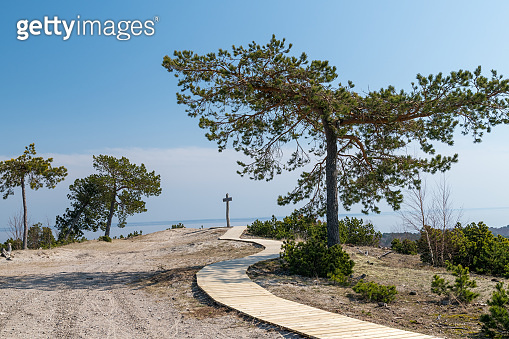 The Curonian Spit in Lithuania