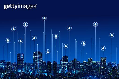 Image of urban internet environment