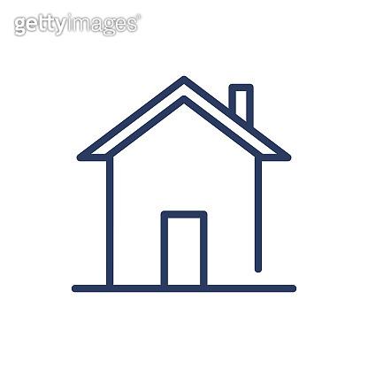 Cottage thin line icon