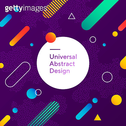 Vivid abstract background design