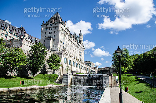 Lock of Rideau Canal
