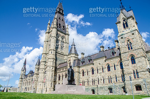 West building of Parliament of Canada
