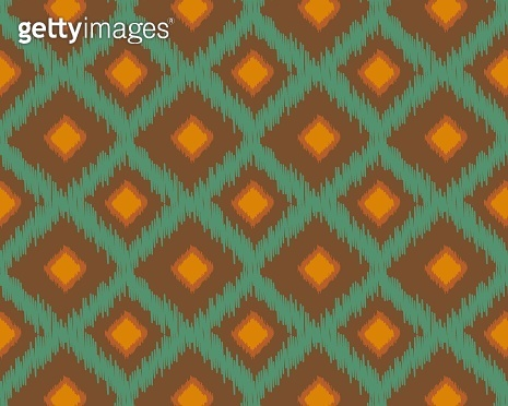 Seamless geometric pattern. Ethnic and tribal motifs. Grunge texture. Print for your textiles. Vector illustration.