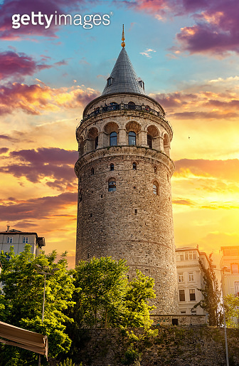 Famous Galata Tower