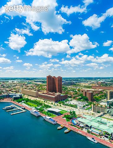 Inner harbor in Baltimore, Maryland