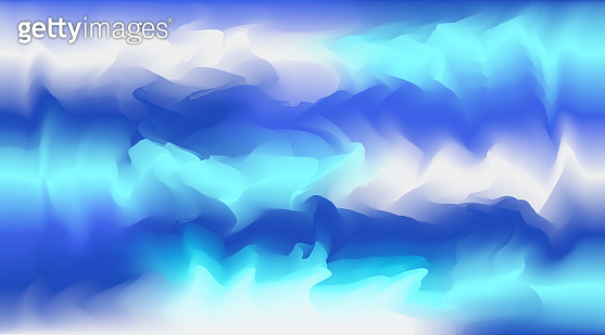 Abstract bright blue colors vector background