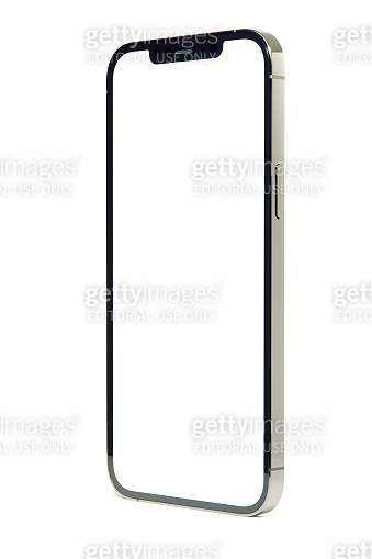 Apple iPhone 12 Pro Max, isolated on white background