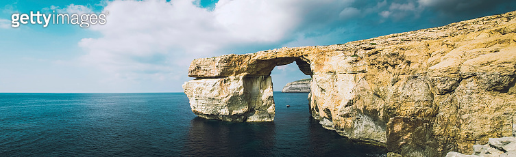 The world famous Azure Window in Gozo Malta Islands