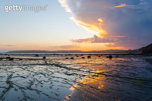 Long reef sunset