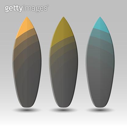Vector Surfboards Design Template