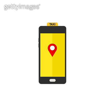 Online mobile application order taxi service