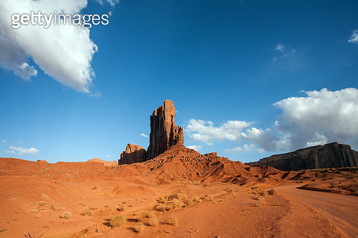 Huge rock Elephant in Monument Valley