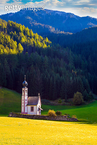 Beautiful picturesque church