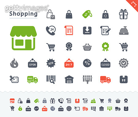 Shopping Spree - Sticker Icons
