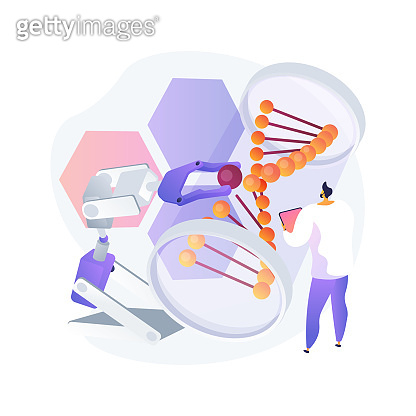 Bioethics abstract concept vector illustration.