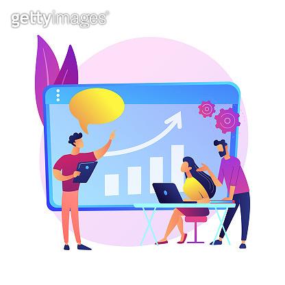 Managers workshop vector concept metaphor