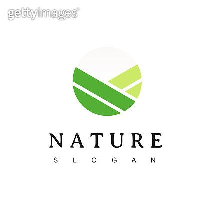 Circle Nature Logo Design Inspiration