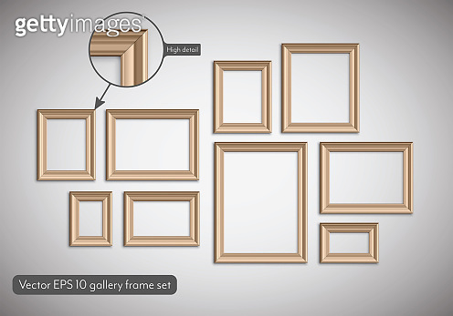 Picture frame idea, inspiration on transparent background